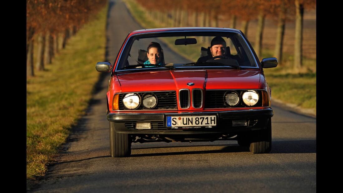 BMW 732i, Front