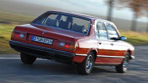 BMW 732i, Seitenansicht