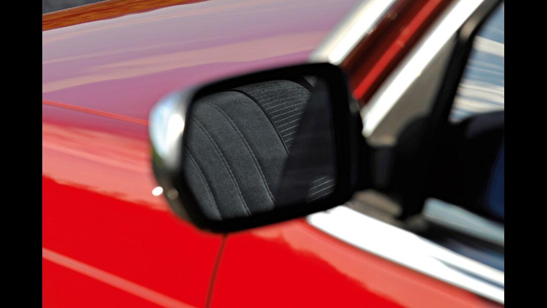 BMW 732i, Seitenspiegel