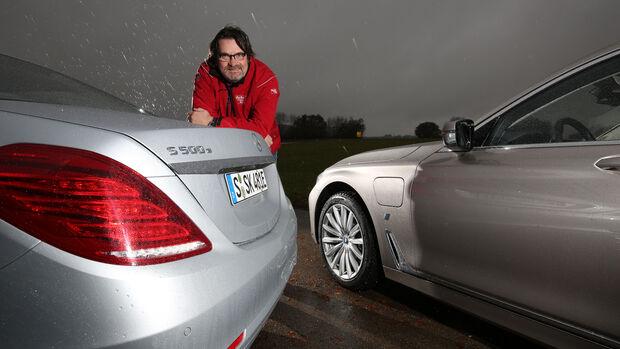 BMW 740Le iPerformance, Mercedes S 500 e, Heinrich Lingner
