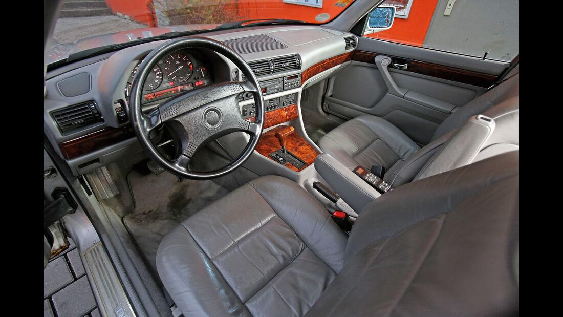 BMW 740i, Cockpit