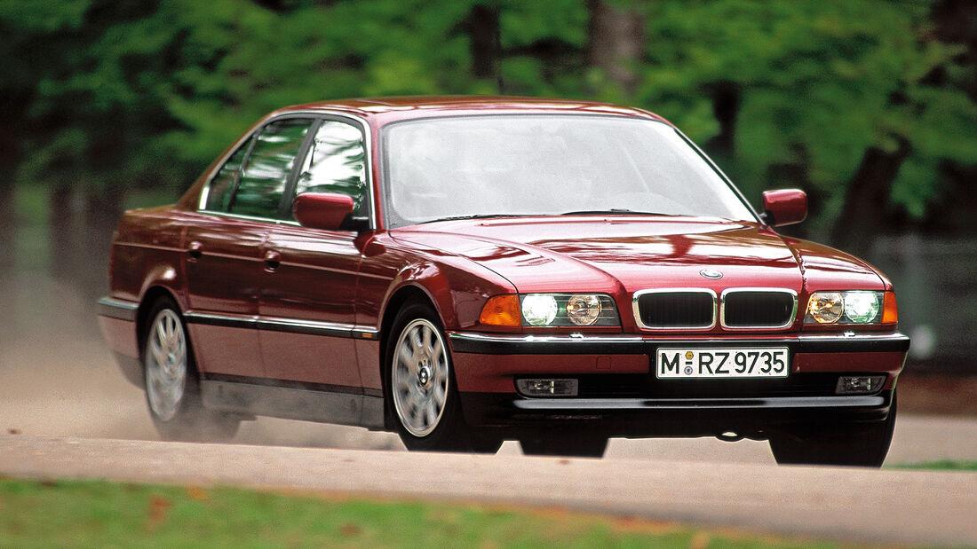 BMW 740i (E38), Frontansicht