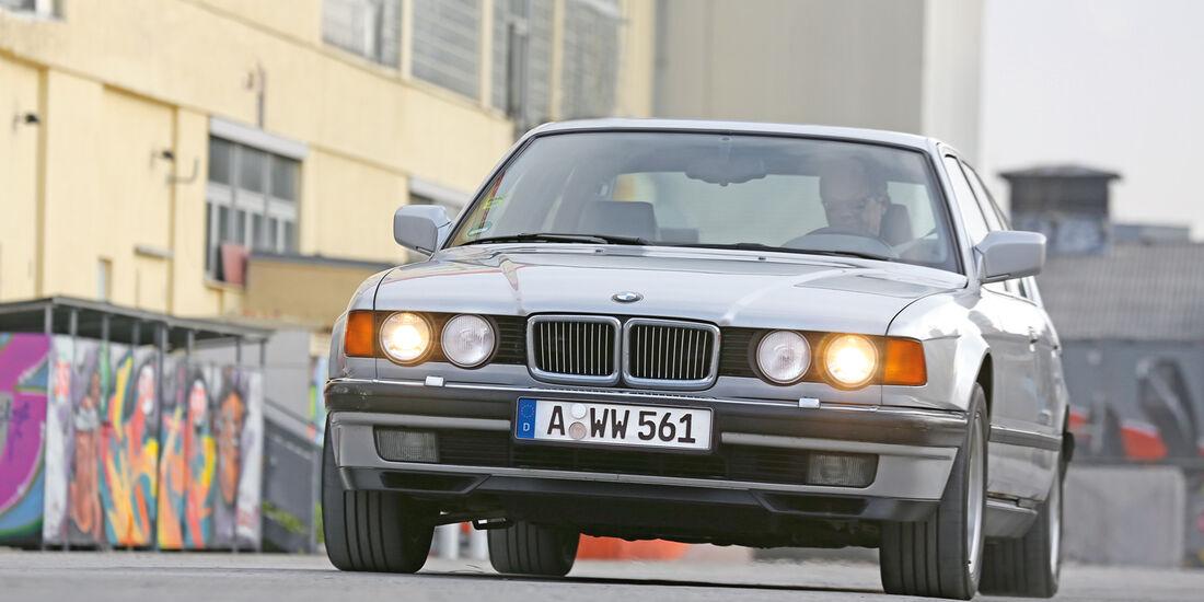 BMW 740i, Frontansicht