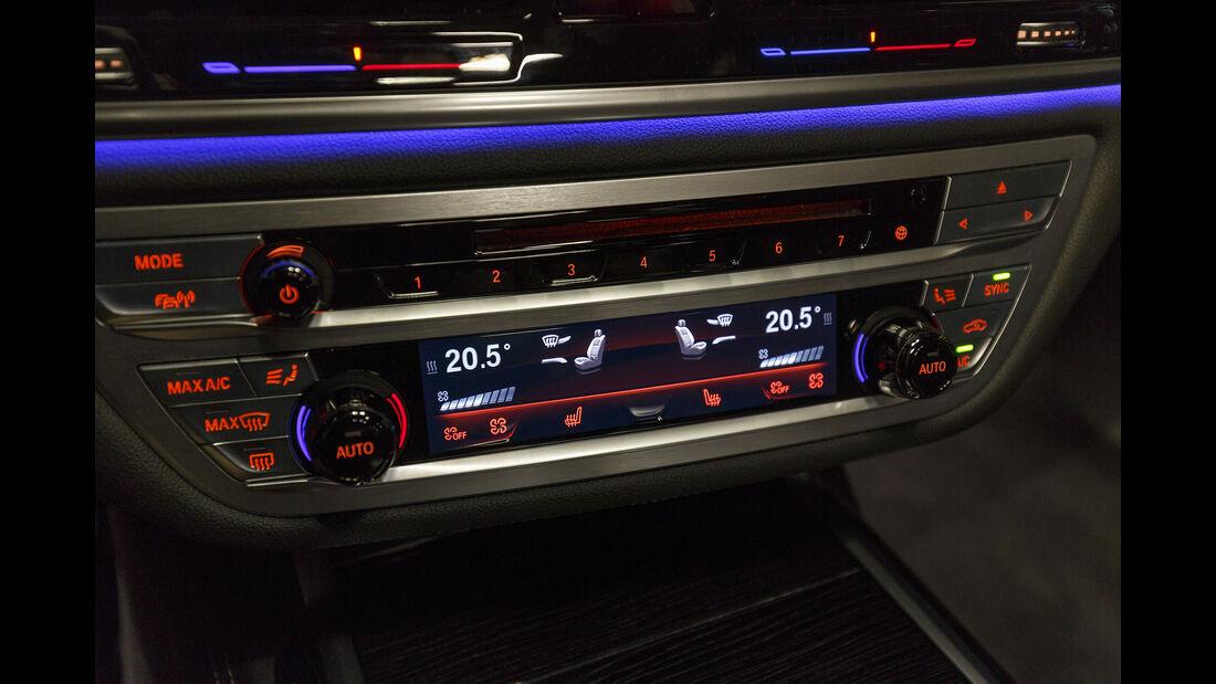 BMW 740i, Interieur