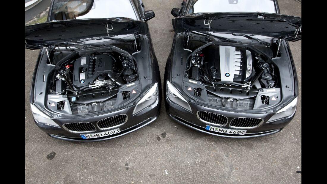 BMW 740i und 740d