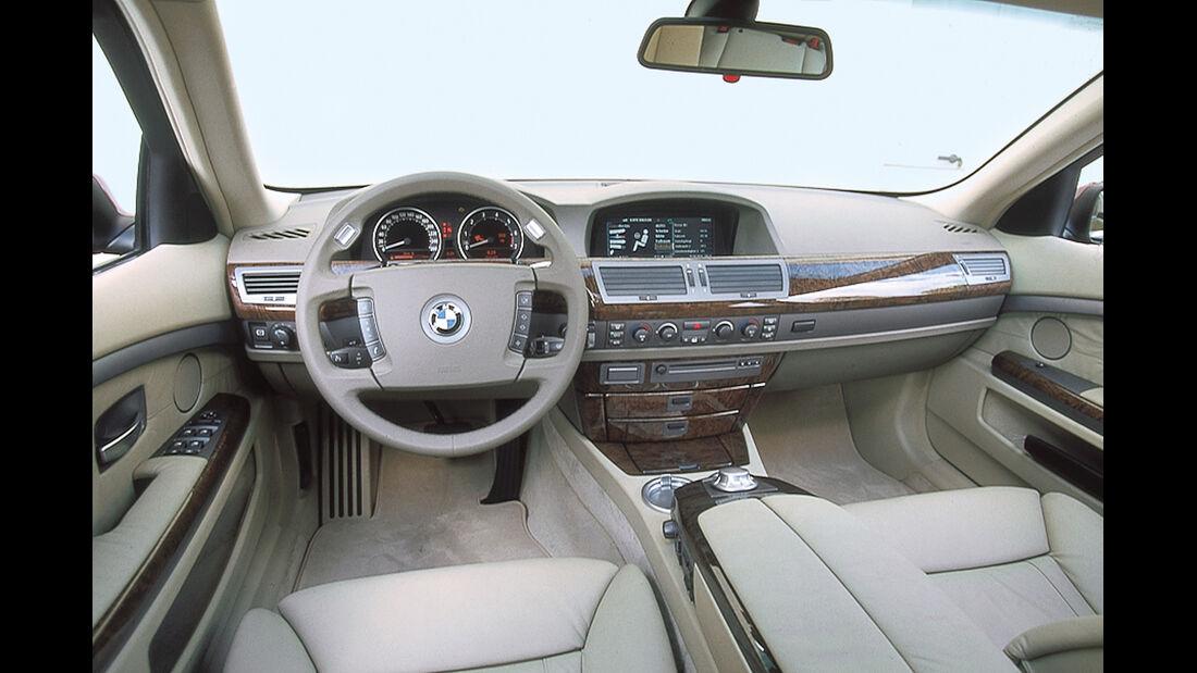 BMW 745i (E65), Cockpit