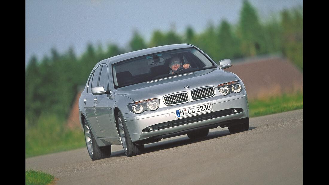 BMW 745i (E65), Frontansicht