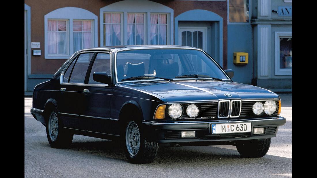 BMW 745i, Frontansicht