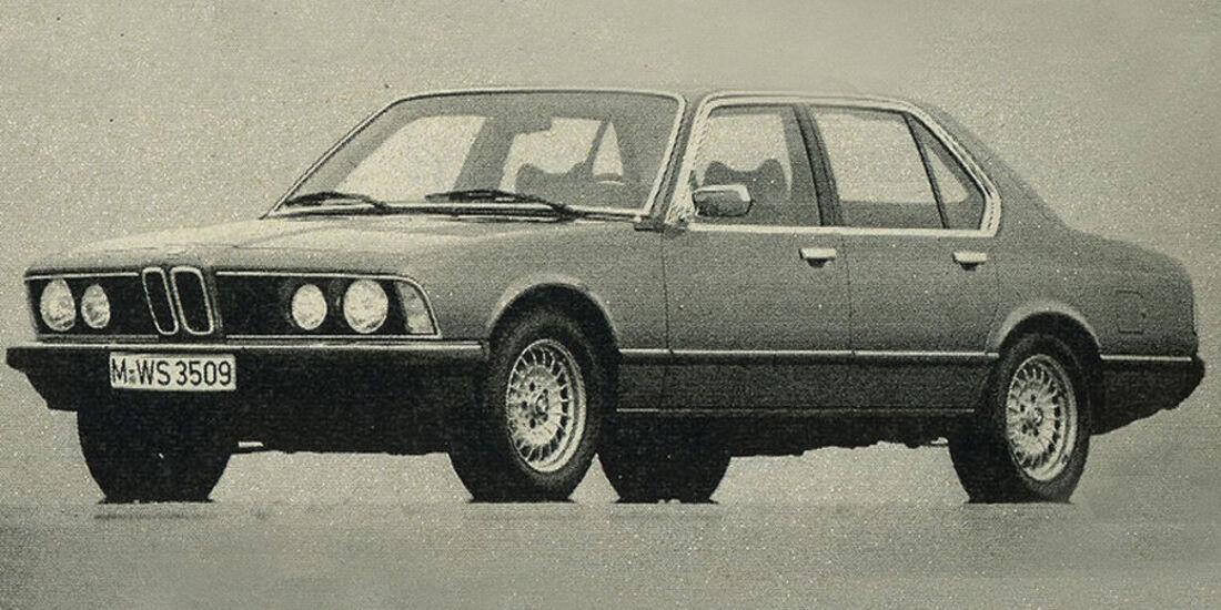 BMW, 745i, IAA 1981