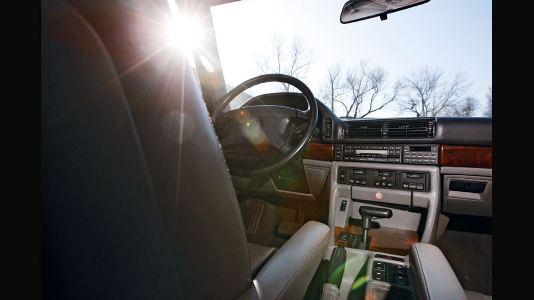 BMW 750 iL, Cockpit