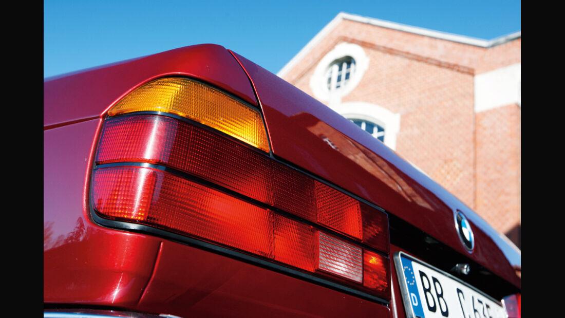 BMW 750 iL, Heck