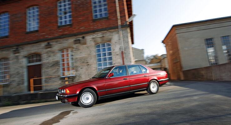 BMW 750 iL, Seitenansicht