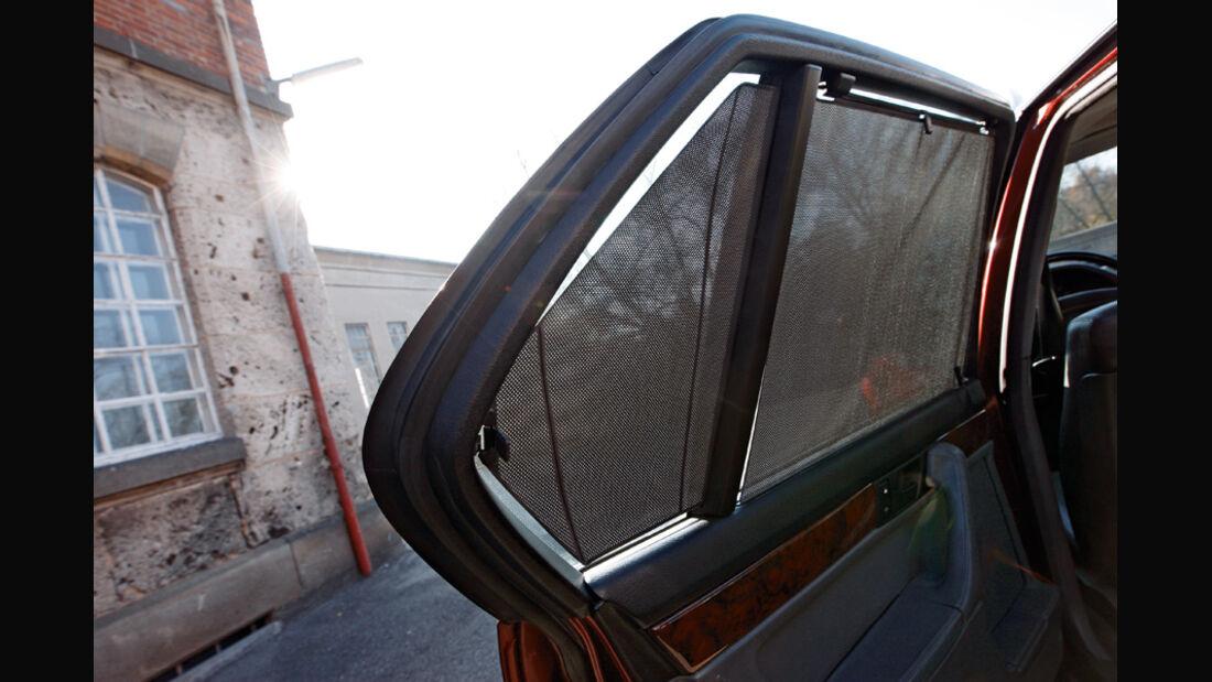 BMW 750 iL, Seitenfenster
