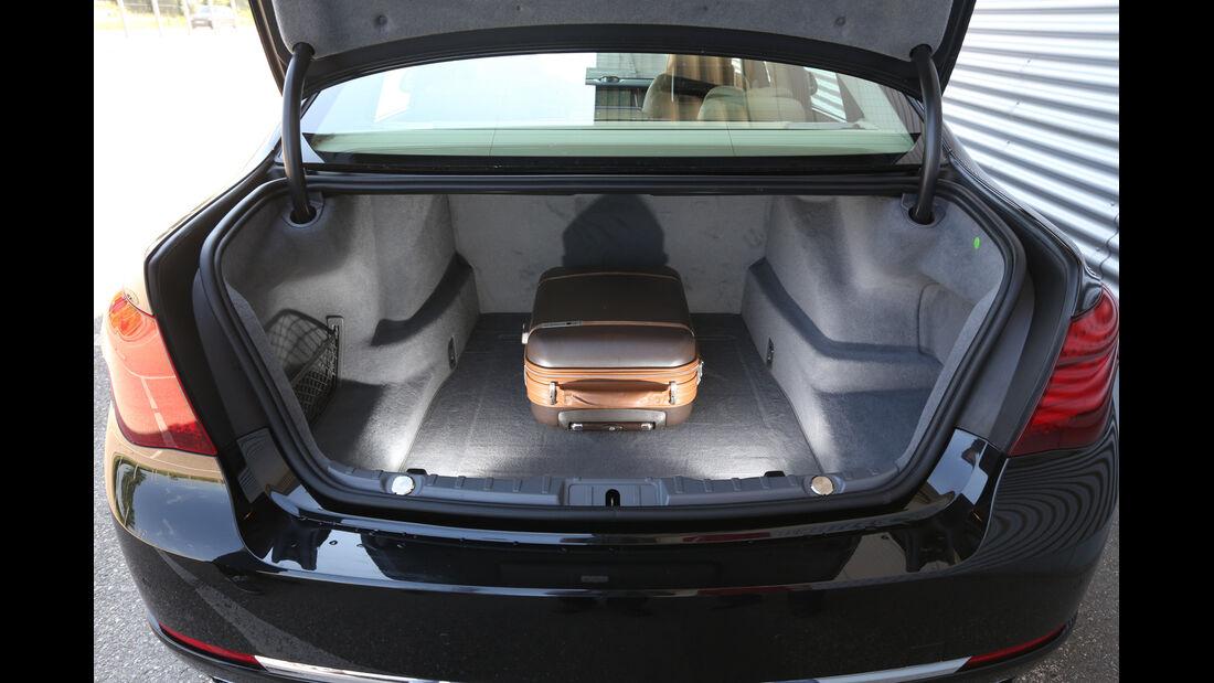 BMW 750Li, Kofferraum