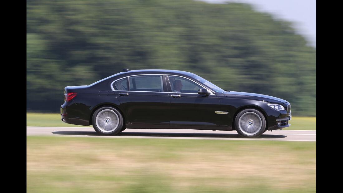 BMW 750Li, Seitenansicht