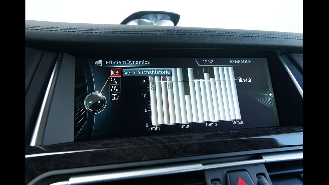 BMW 750d x-Drive, Bordcomputer