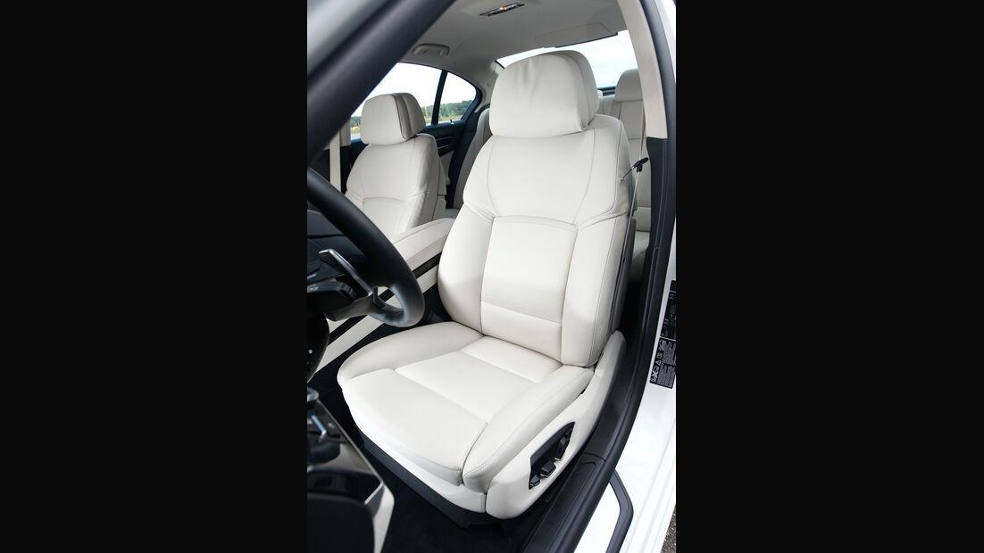 BMW 750d x-Drive, Fahrersitz