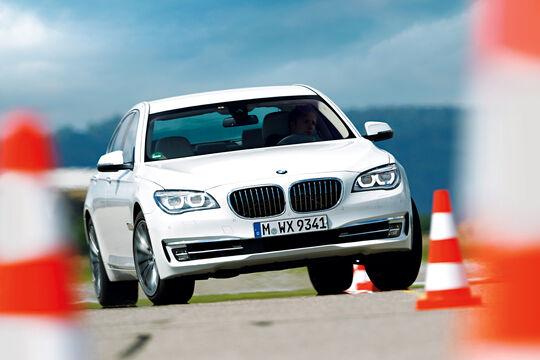 BMW 750d x-Drive, Frontansicht