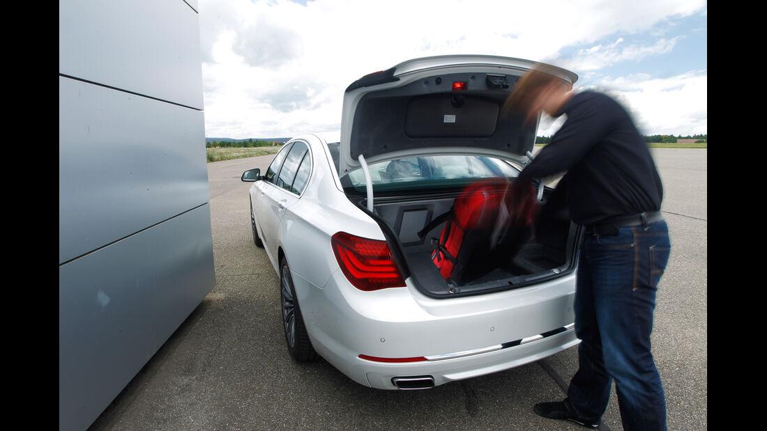 BMW 750d x-Drive, Kofferraum