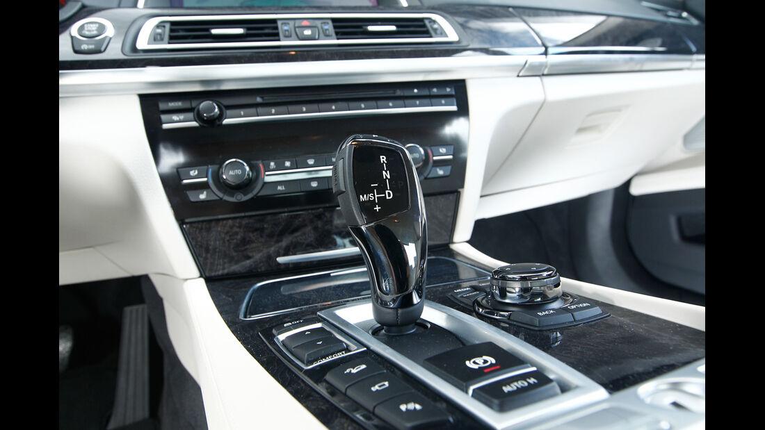 BMW 750d x-Drive, Schalthebel, Schaltknauf