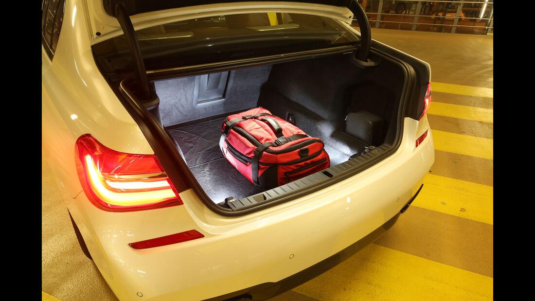 BMW 750d xDrive, Kofferraum