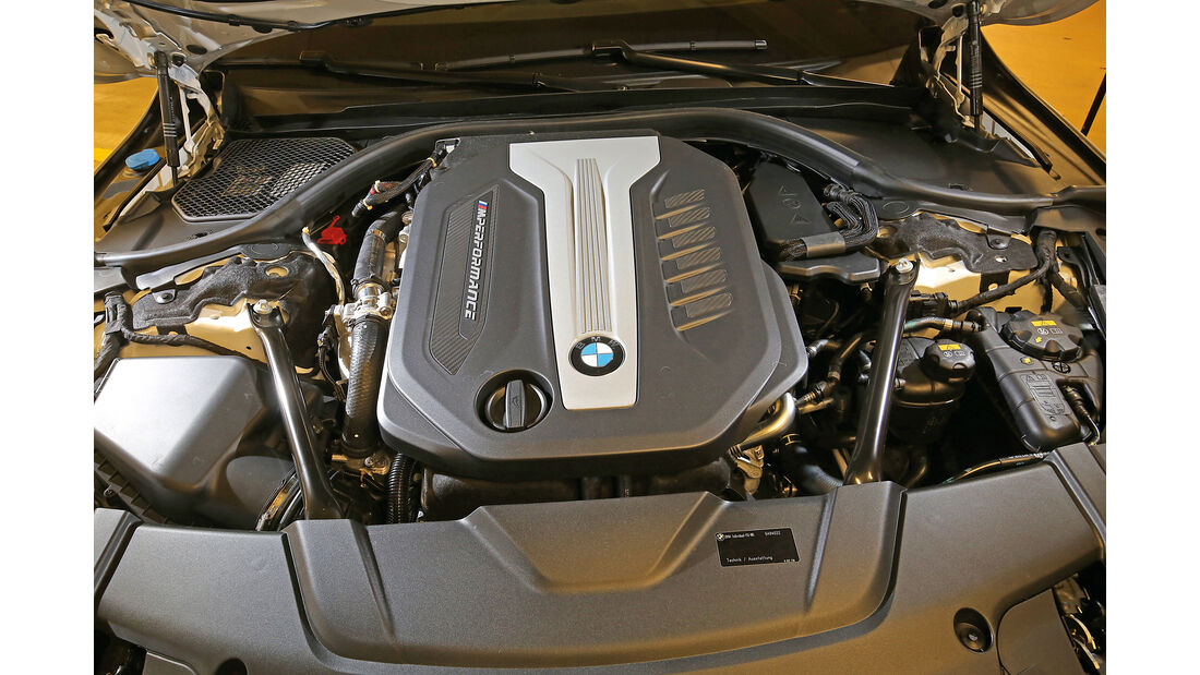 BMW 750d xDrive, Motor