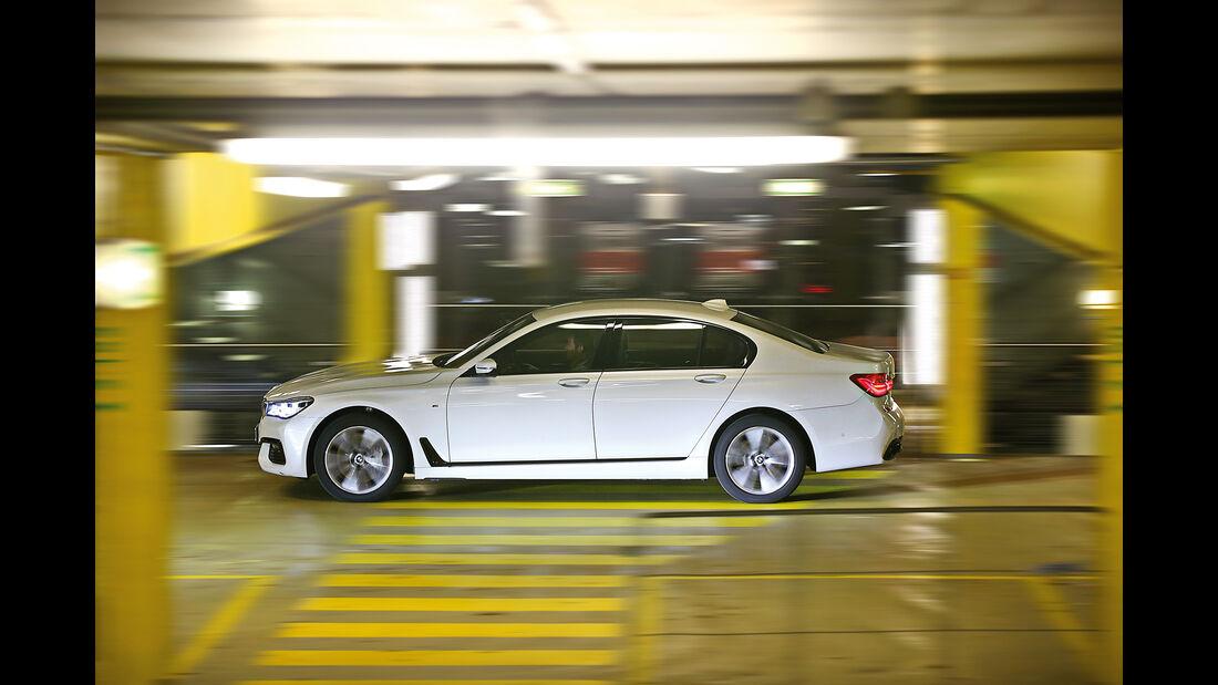 BMW 750d xDrive, Seitenansicht