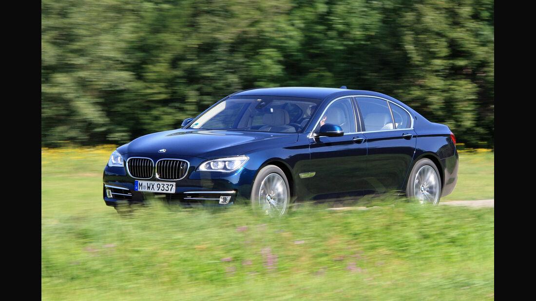 BMW 750i, Frontansicht