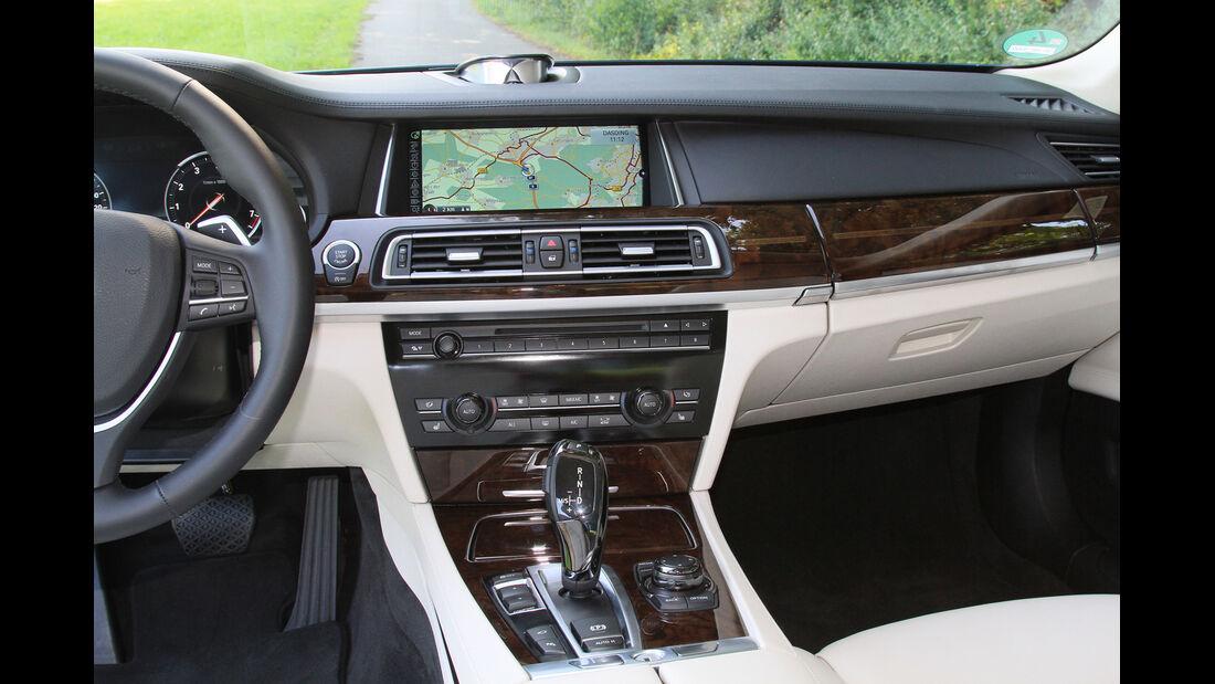 BMW 750i, Mittelkonsole