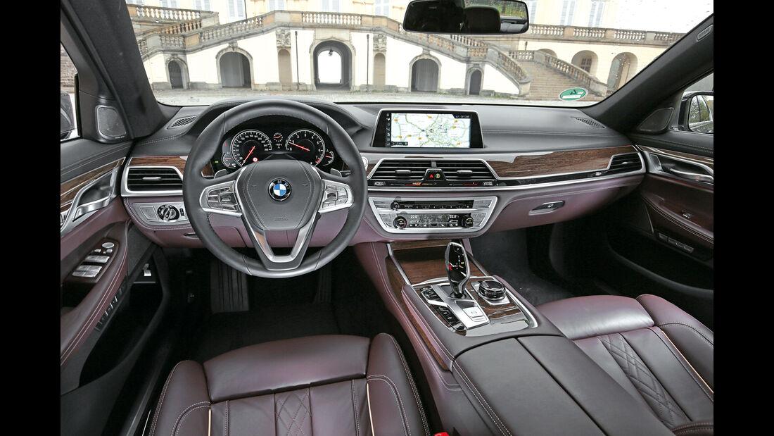 BMW 750i xDrive, Cockpit