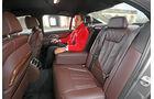 BMW 750i xDrive, Fondsitze