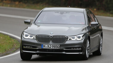 BMW 750i xDrive, Frontansicht