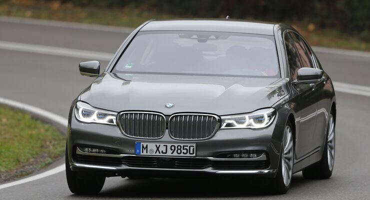BMW 750i xDrive, Frontansicht