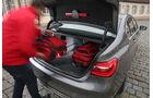 BMW 750i xDrive, Kofferraum