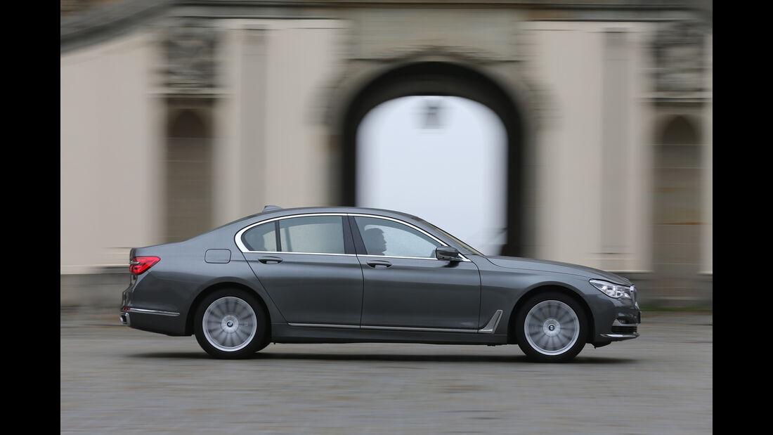 BMW 750i xDrive, Seitenansicht