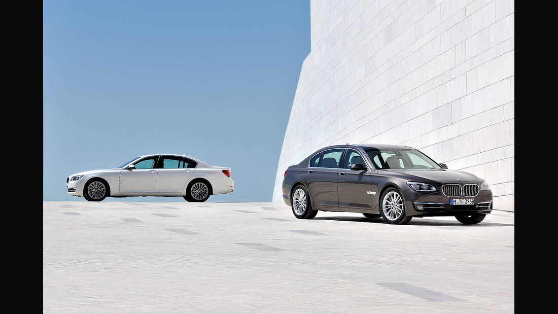 BMW 7er, BMW 7er Langversion