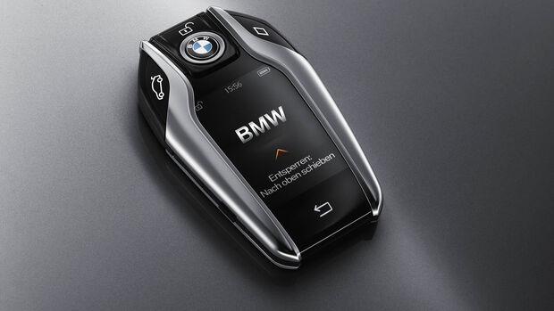 BMW 7er, Baureihe G11, Schlüssel