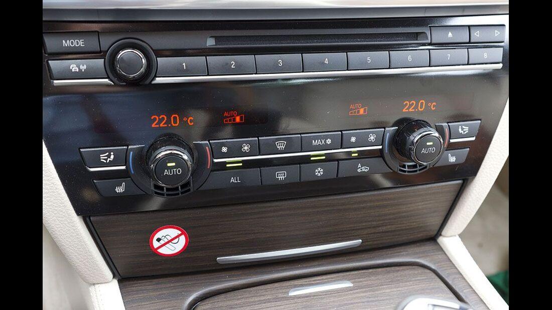 BMW 7er, Cockpit