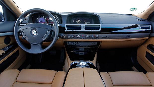 BMW 7er Cockpit (E65)