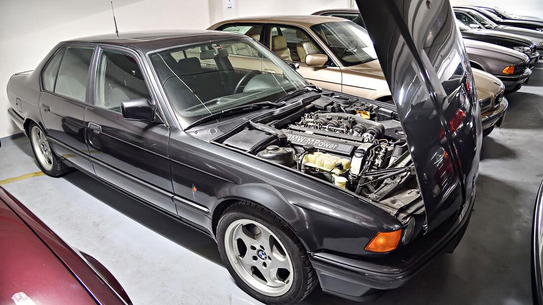 BMW 7er E32 M5 Dienstwagen Paul Rosche
