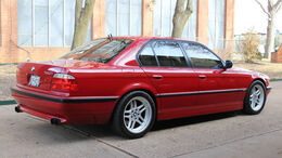 BMW 7er E38 (2001) Conversion 740i M5 E39 engine swap