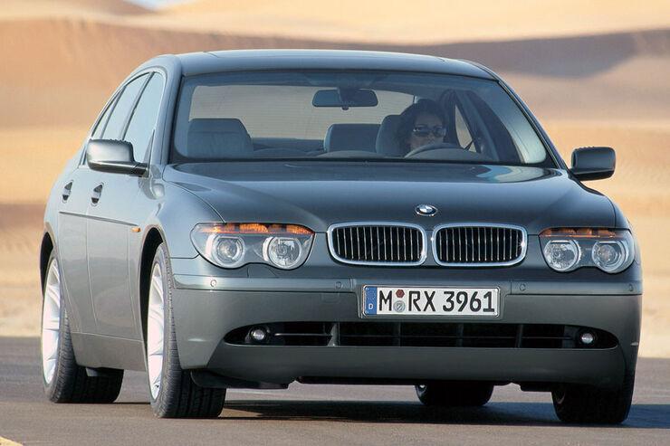 BMW 7er E65 Technische Daten
