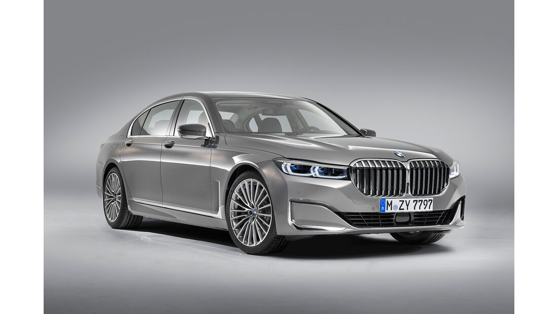 BMW 7er, Facelift 2019