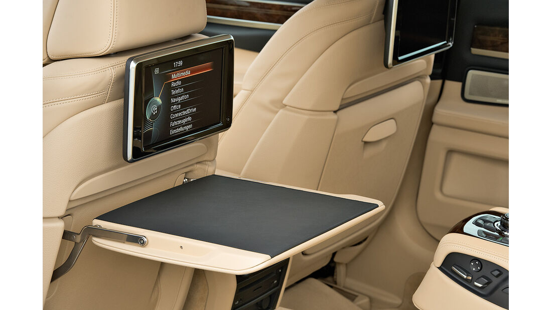BMW 7er, Fond, Rear-Seat-Entertainment