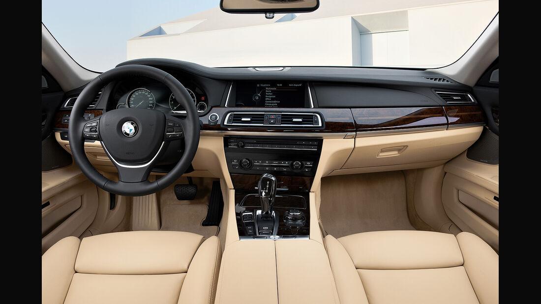 BMW 7er, Innenraum, Cockpit