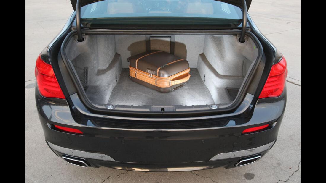 BMW 7er, Kofferraum