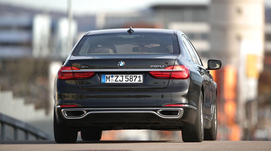 BMW 7er L, Exterieur