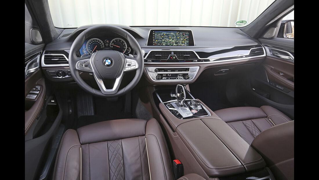 BMW 7er L, Interieur