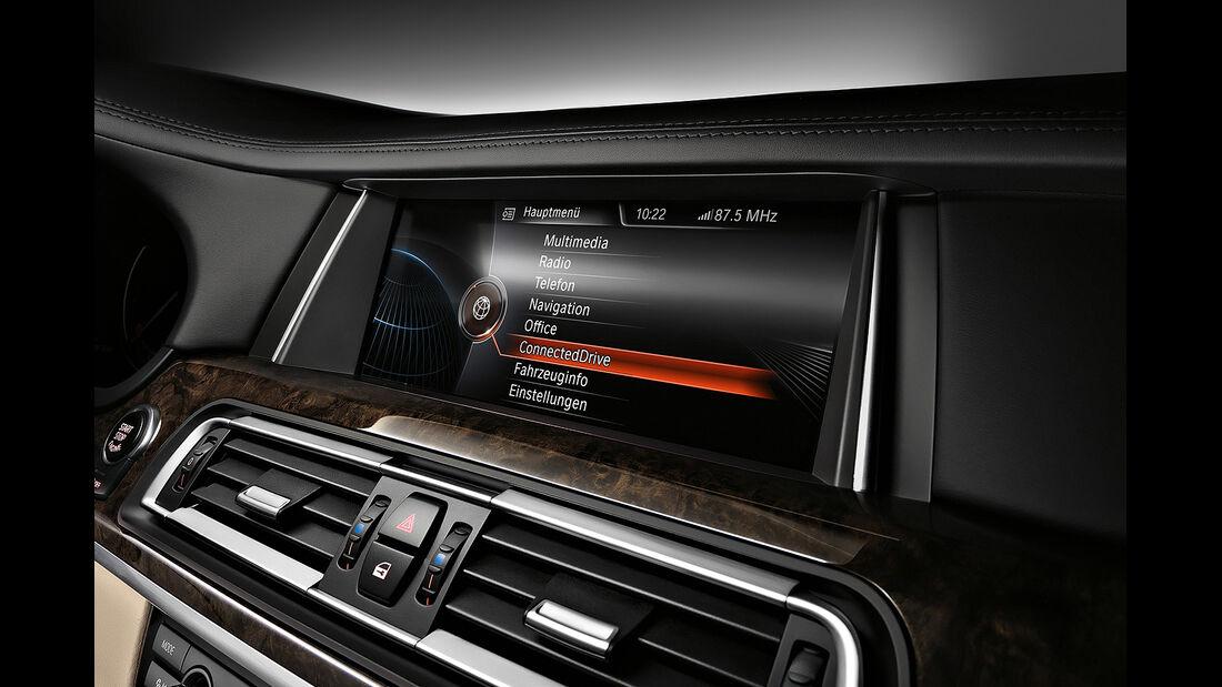 BMW 7er, Navigationssystem, Display