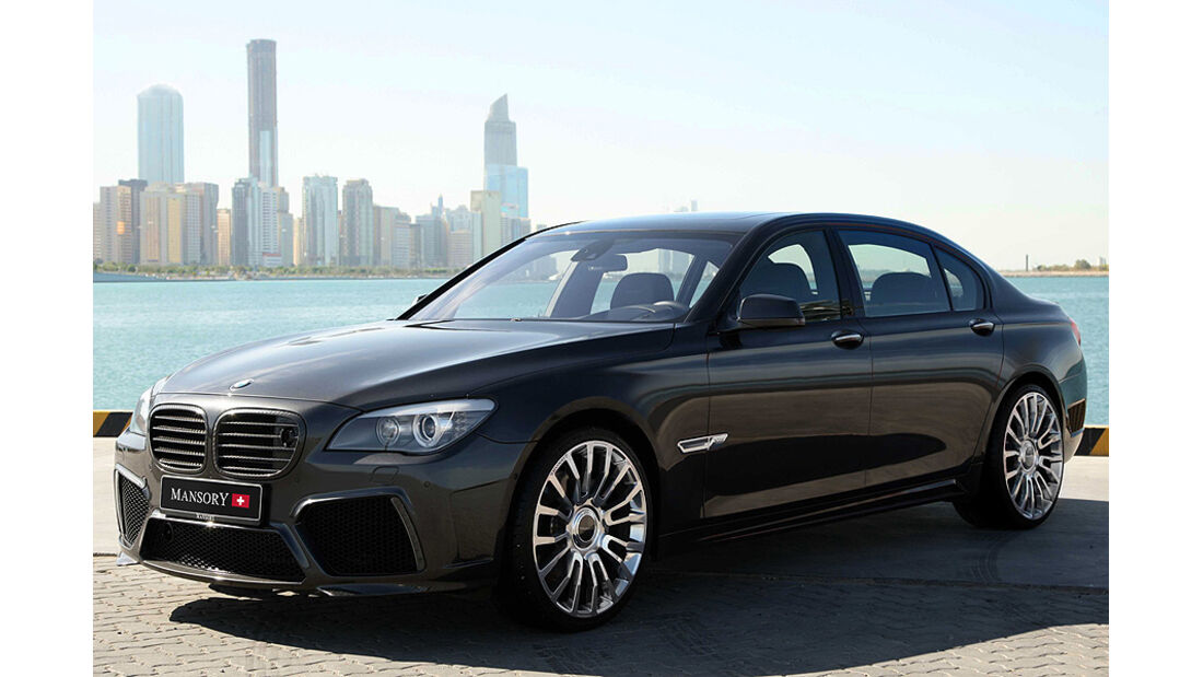 BMW 7er von Mansory, Front
